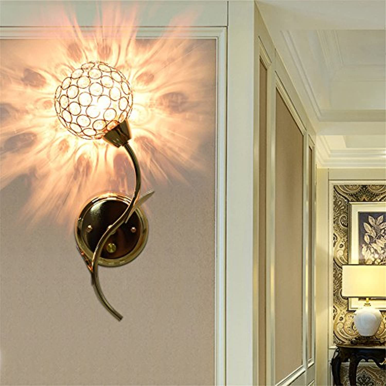 StiefelU LED Wandleuchte nach oben und unten Wandleuchten Crystal Wandleuchte bed Korridor Treppe Spiegel front Led Lampen, Wandleuchten