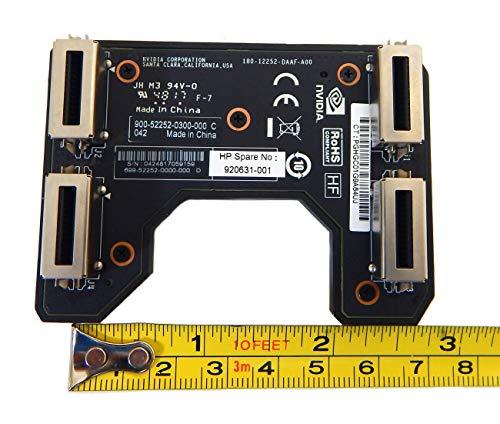 NVIDIA GTX SLI Bridge 2-Way 3-Slot 920631-001 180-12252-daaf-a00 60.96mm