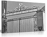 Leinwanddruck Liverpool FC You'll Never Walk Alone,