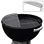 The Original 'Upper Deck' Stainless Steel Grilling Rack/ Warming Rack /Smoking Rack/ Charcoal Grill Grate- Use with…