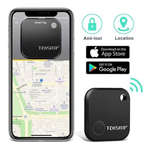 Wallet Key Finder-Key Finder Smart Tracker,Device for Mobile Phone Keychain Luggage Bag-Anti-Lost Bluetooth Item Finder GPS Key Tracker