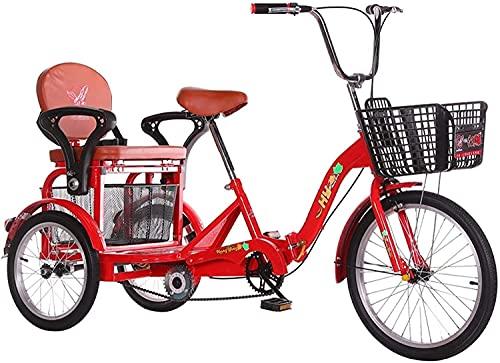 Triciclo de 3 ruedas para adultos - TRIKE CRUISER Bicicleta plegable de...