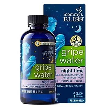 Mommy s Bliss - Gripe Water Night Time - 4 FL OZ Bottle
