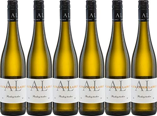 6x Riesling Trocken Sc 2019 - Weingut Alexander Laible, Baden - Weißwein