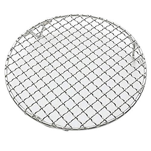 Fittoway Mehrzweck-Gitter-Gestell aus Edelstahl, rund, geeignet als Abkühlgitter, Dämpfgitter, Grillrost, Bratrost, Pfannenrost, Backgitter, mit Beinen, edelstahl, Diameter-9.9 inches