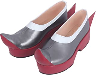 Fate Attila Altera Red Gray Halloween Cosplay Shoes S008