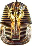 Akachafactory Aufkleber Sticker Antikes Ägypten frühere Ägyptische Figur Statue toutankhamon, Königsblau
