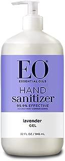 EO Botanical Hand Sanitizer Gel, Lavender, 32 Ounce