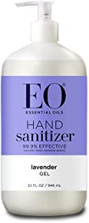 EO Botanical Hand Sanitizer Gel, French Lavender, 32 Ounce