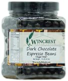 Chocolate Espresso Beans - 1.5 Lb Tub (Sugar Free Dark Chocolate)