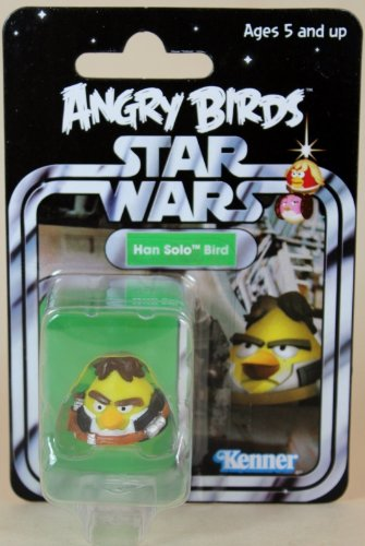2013 SDCC Hasbro Exclusive Star War Angry Birds Han Solo Bird - Carded