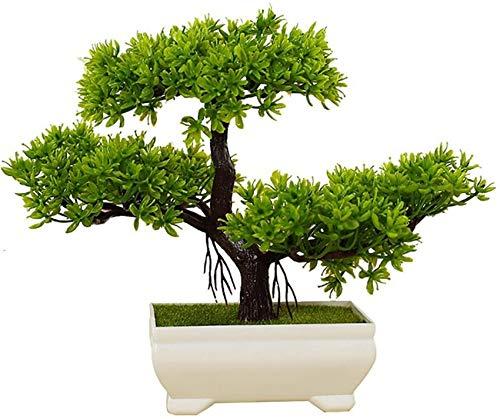 HCYY Flor Árbol Bonsai plástico de la Suerte.Bonsai de Plantas de Interior para Feng Shui, 7.87