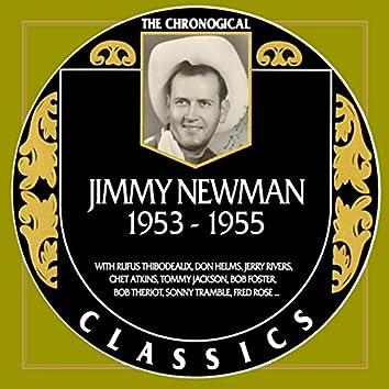Jimmy Newman 1953-1955