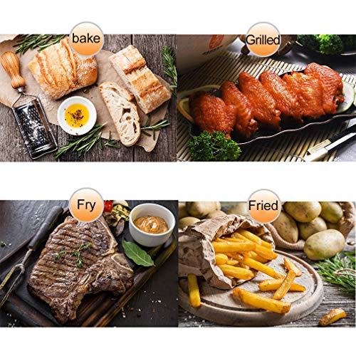 51fOqseOnKL. SL500  - Digital Fry Air Fryer Toasterofen, Dörrgerät, mit 8 Voreinstellungen, inklusive Zubehör, zum Braten, Braten, Grillen, Backen, gesund ölfrei, 10 l, schwarz