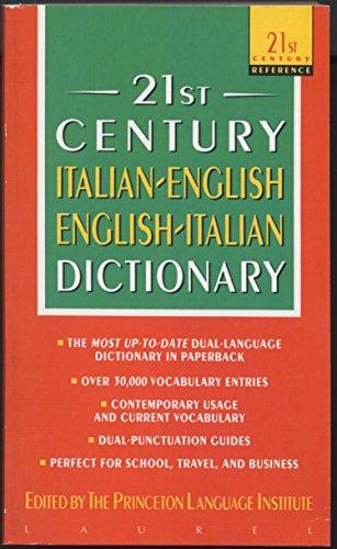21st Century Italian-English English-Italian Dictionary (21st Century Reference)