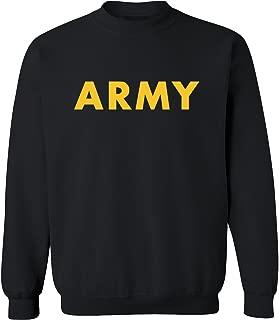 Best black army sweatshirt Reviews