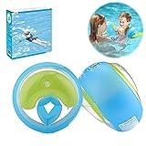 Pali da nuoto per bambini, per piscina e bambini, galleggianti per bambini (blu, S)