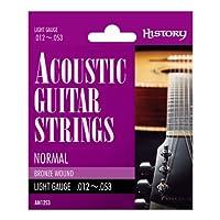 HISTORY AN1253 アコースティックギター弦 LIGHT (ヒストリー)