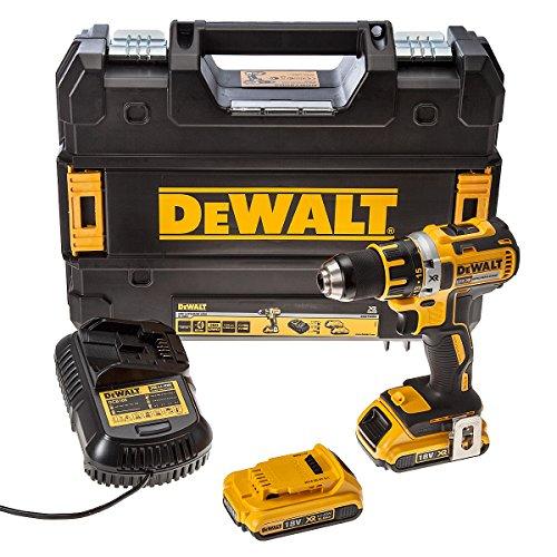 Preisvergleich Produktbild Dewalt DCD790D2 18, 0V Akku-Bohrschrauber-Set (bürstenlos)
