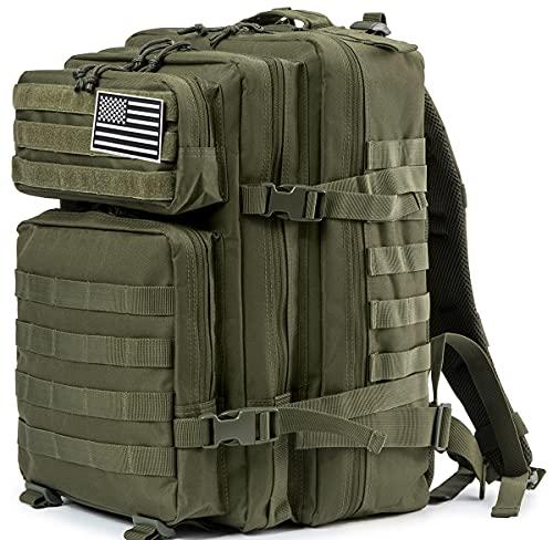 45L Military Tactical Backpacks For Men Camping Hiking Trekking...