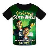 Go-OseB-ump Slap-py - Camiseta de manga corta para niños, diseño gráfico 3D
