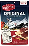 Field Trip Turkey Jerky | Gluten Free Jerky, Low Carb, Healthy High Protein Snacks with No Nitrates, Made with All Natural Ingredients | Original | 12oz Bulk Bag