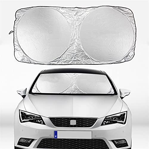 WAZX Sombrilla de Parabrisas de automóviles para Asiento Alha/Mbra Alt/EA ARO/NA Aros/A ATE/CA CO/RDOBA EXE/O IBI/ZA 6J 6L LE/ON MK2 MK3 Tar/RACO TOL/Edo MII 719 (Color : For Ibiza)