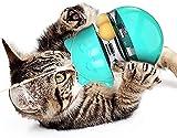 AVNICUD Juguetes para Gatos, Juguete Interactivo 4 EN 1 para Gatos, Diseño Seguro, Ajustable Dispensadora de Comida, Bola para Golosinas de Gato para Ejercicio Animal Doméstico Gatos