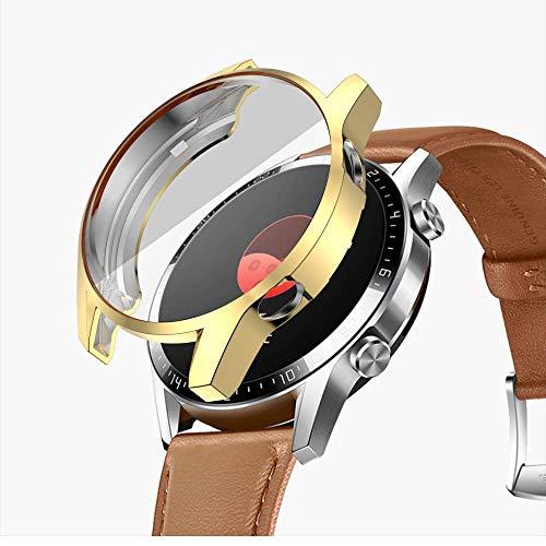 Miimall - Carcasa para Huawei Watch GT 2 (46 mm, con Protector de Pantalla)