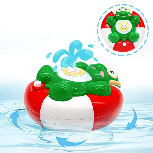Juguetes Baño Rociador Agua Animales Tortuga Automático