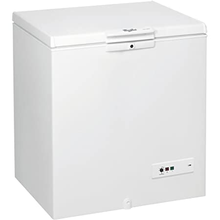 Congélateur coffre Whirlpool WHM2110 - Froid statique / 204 litres / Blanc / A+ / Pose libre