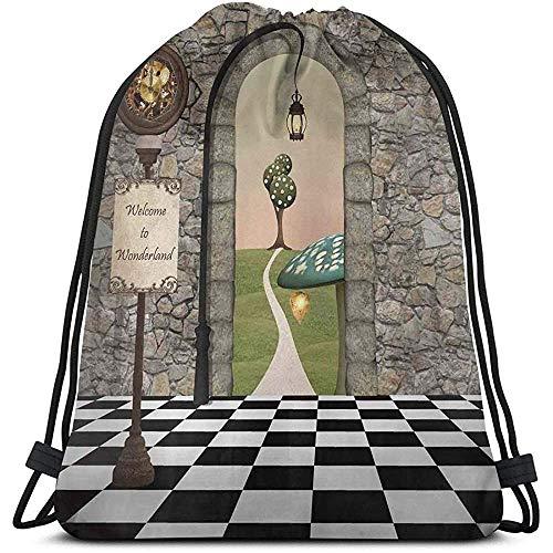 Mochilas Bolsas, Welcome Wonderland Linterna Hongo