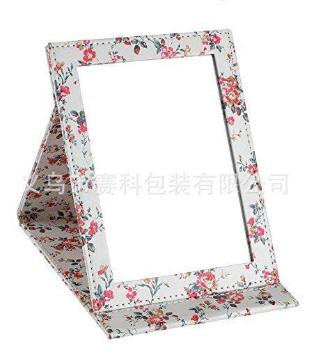 Spiegel Schminkspiegel Tischspiegel Taschenspiegel Klappspiegel Reisespiegel Blumen Shabby