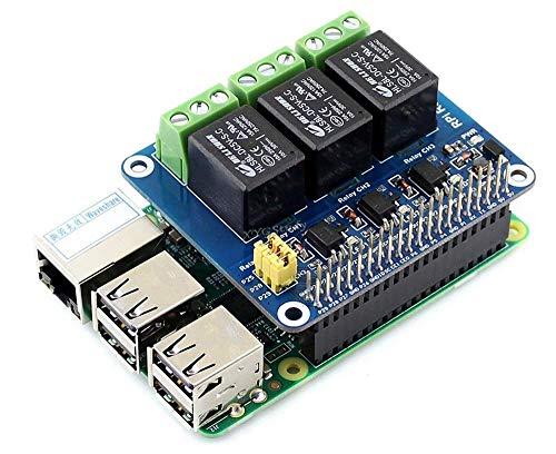 XYGStudy Raspberry Pi Erweiterungsplatine Leistungsrelais-Modul für Raspberry Pi 4 3 2 Modell B B + A+