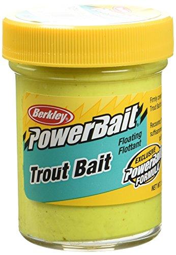 Berkley Powerbait, Esca per Trota Biodegradabile, Giallo (Sunshineyellow), 50 g,