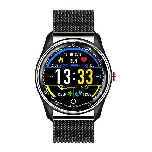 OH Mode Mx9 Ecg Geschäft Smart Watch Männer Frauen Herzfrequenz-Blutdruck-Monitor-Sport-Smartwatch Uhr Für Android Ios täglicher Verschleiß/D