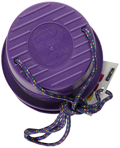 Buy Cheap Just Jump It Set of 2 EZ Steppers Agility Toy - Can Stepper Toys (Purple)