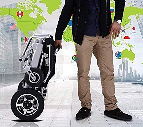Neues Modell 2019 Falten Amp; Reise-Leichter Motorisierter Elektro-Rollstuhl-Roller, Luftfahrt-Reise-Sicherer Elektro-Rollstuhl-Hochleistungs-Elektrorollstuhl, TWL LTD-Wheelchairs