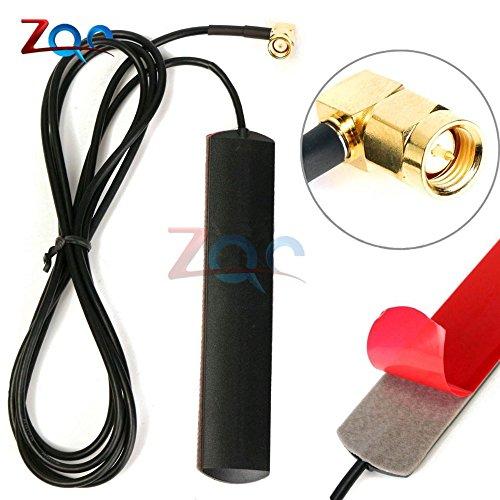 GSM GPRS Antena 433 MHz 2.5dbi Cable SMA Macho Universal DAB Patch Antena 433 MHz