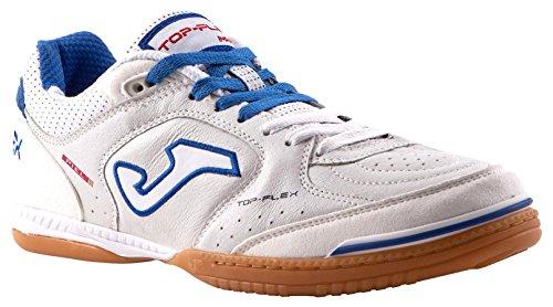 Joma Men's Futsal Shoes, White White Black Orange, 40