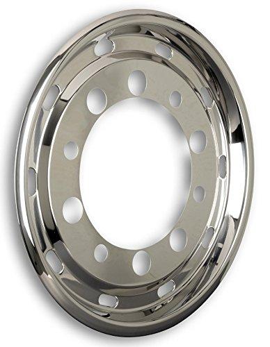 Tapacubos universal de 22,5 pulgadas para neumáticos anchos de 11,75 x 22,5 pulgadas con ET de 130 mm para camiones.