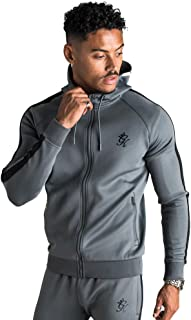 Gym King Men Athletic Basis Poly Tracksuit Hooded Top Casual Fashion Style Sport TST-1868 New