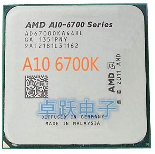 APU A10 6700 APU A10 6700k Socket FM2 Quad Core CPU 3.7GHz