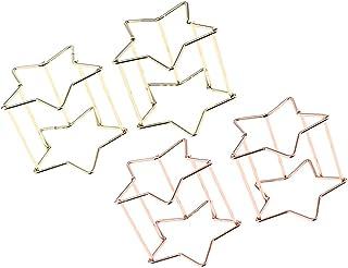 F Fityle 星形 スポンジブレンダーホルダー コットンパフホルダー 収納ラック 4個入り