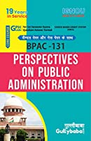 Gullybaba IGNOU (New CBCS) BPAC-131 Perspectives on Public Administration in english With Solved Sample Question Papers and Important Exam Notes [Paperback] Gullybaba.com Panel