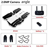 RONSHIN LanLan JD-20 YH-19 WiFi FPV avec 2MP caméra Grand Angle Haute Mode Pliable RC Quadcopter Drone 200W Grand Angle