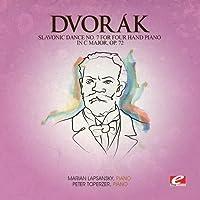 Slavonic Dance 7 Four Hand Piano C Maj 72