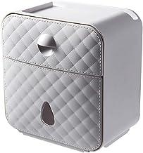 Toiletrolhouder, badkamerpapierrolhouder Toiletrolhouder voor keuken wasruimte -grijs