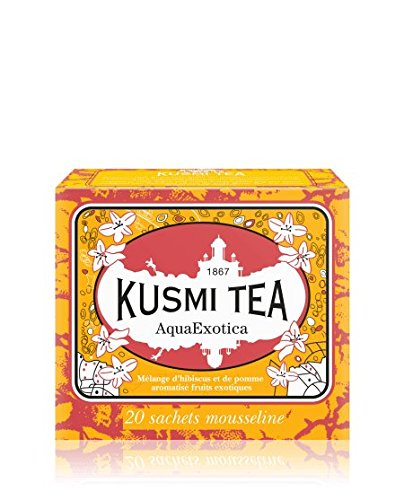 Kusmi Tea - Infusion de Fruits AquaExotica - Boîte de 20 sachets