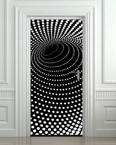 3D Deurfolie Deurfolie Diy 3D Deur Sticker Hout Lijm Waterdicht Behang Voor Deuren Woonkamer Slaapkamer Poster Muurschildering Decals Home Decor-As_Shown_90X200Cm